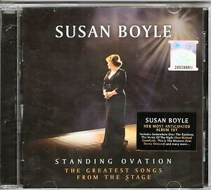 SUSAN-BOYLE-Standing-Ovation-Songs-From-The-Stage-CD-BRAND-NEW-Still-Sealed