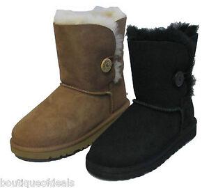 Kids UGG Bailey Button 5991 Chestnut Boots