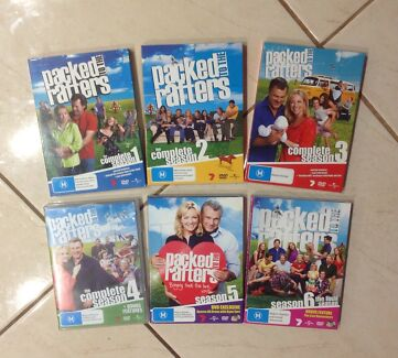 DVDs - 'Packed To The Rafters' TV Series