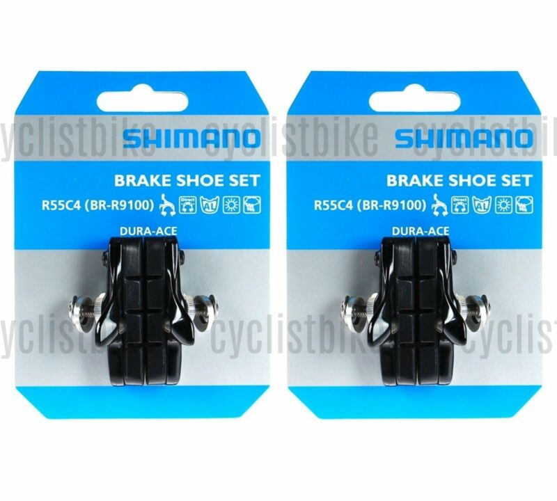 Pair Y8L298050 BR-9000 Cartridge Type Brake Shoe Set Shimano Dura-ace R55C4
