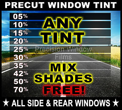 PreCut All Sides &Rears Window Film Any Tint Shade for Chevy Trucks Colorado/S10
