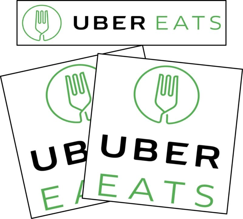 UberEats Car Magnet Magnetic Auto Truck Removable Signs
