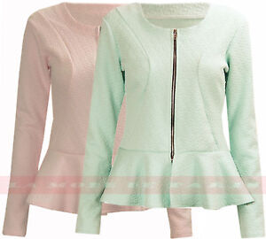 C60-NEW-WOMENS-CROPPED-JACKET-LADIES-LUCY-PEPLUM-FRILL-BLAZER-TAILORED-COAT-TOP