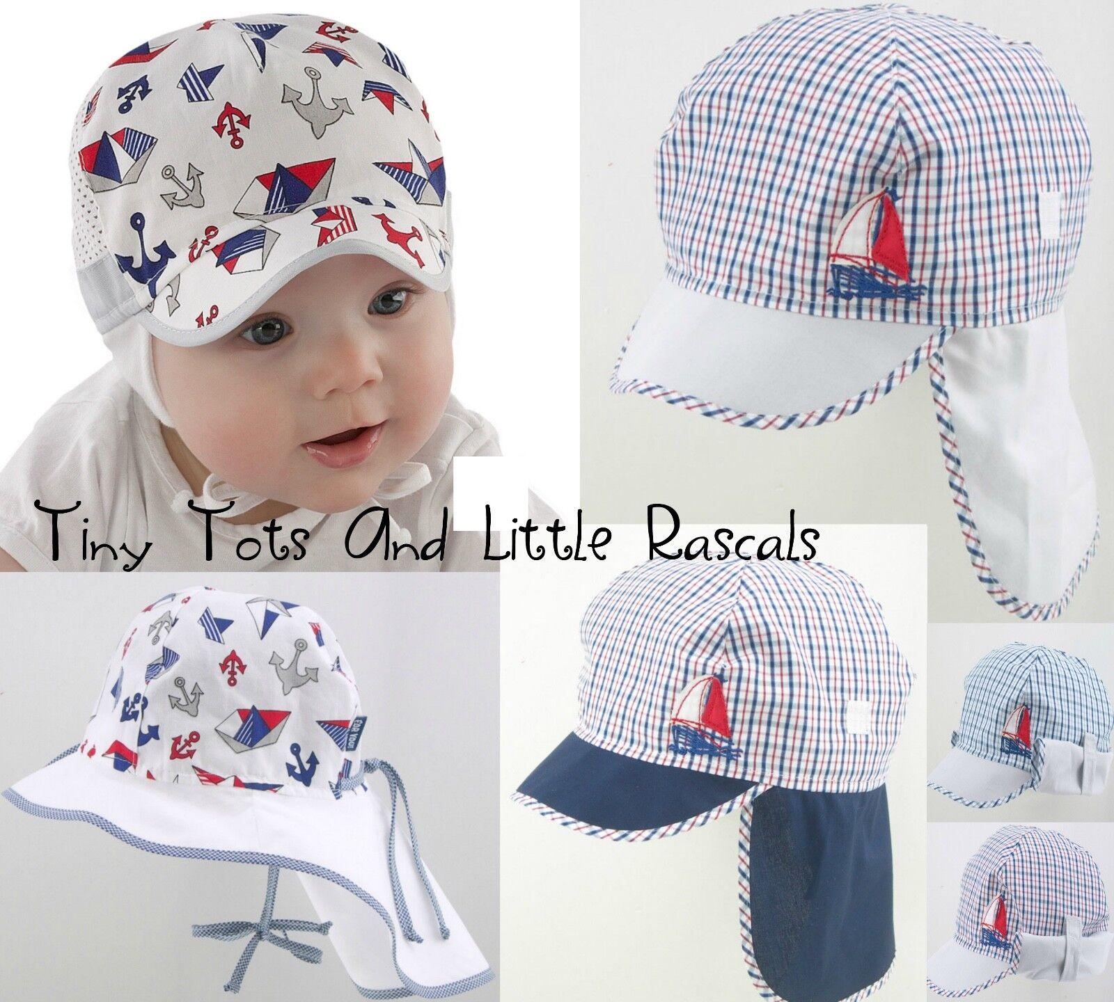Baby Boy Infant Toddler Cotton Spring Summer Sun Autumn Pirate Hat 0 - 4 years