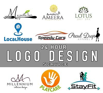 Professional Logo Design, Cheap/Fast/Reliable, Unlimited Revisions, 24HR Service
