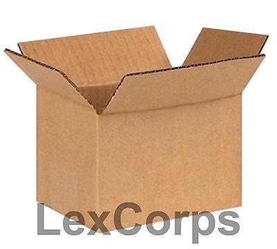25 Qty 6x4x4 Shipping Boxes Standard