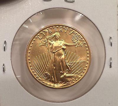 Rare  Early Date 1988 Gold Eagle $25 American Gold Eagle AGE Scarce Date Bu Ms