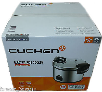Cuchen Commercial Rice Cooker Warmer 28 Cup Nsf Approved Made In Korea