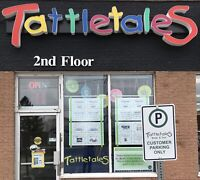 "Tattletales Books & Toys "" Independent Bookstore Days"""