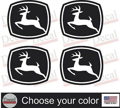 John Deere Skid Steer Loader Rear Decal Kit Vinyl Decal Equipment Stickers 4