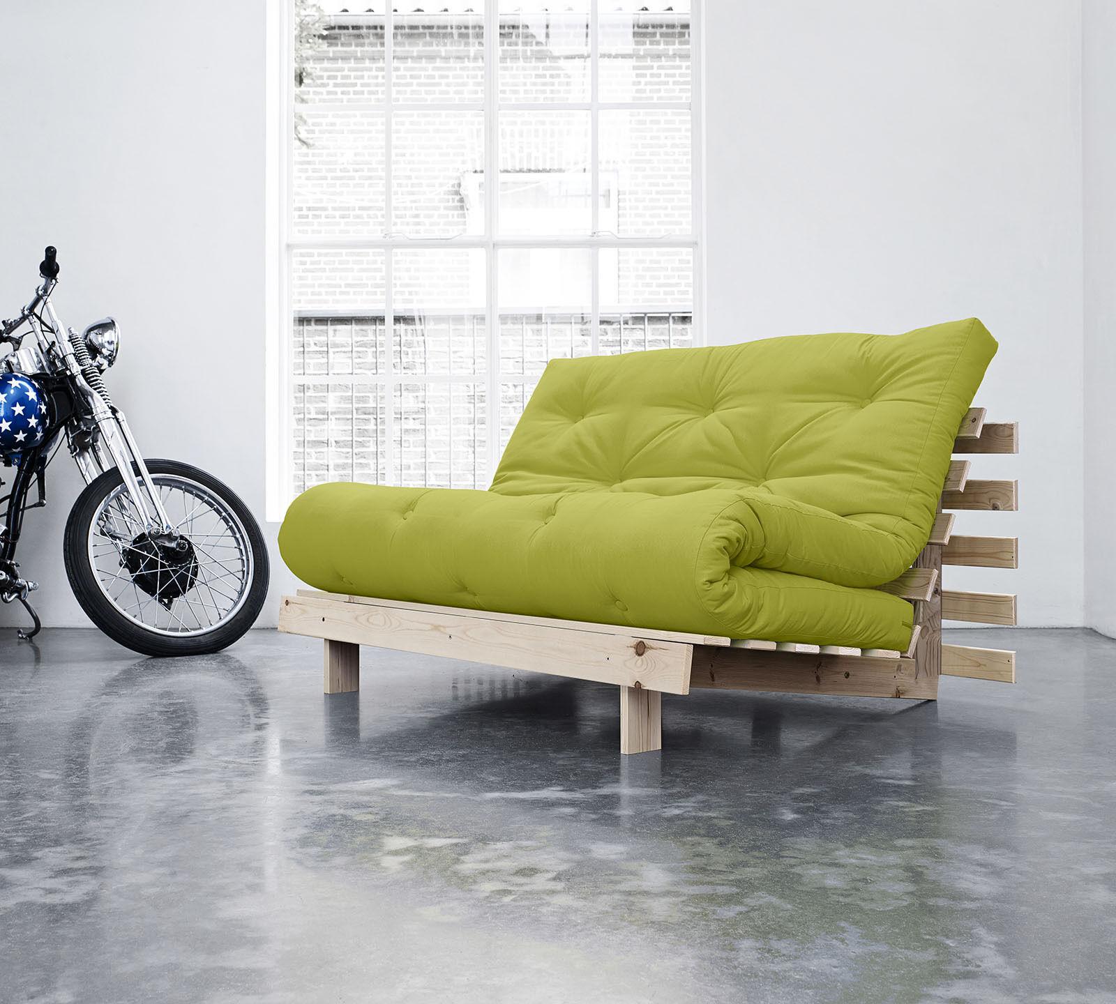 Divano letto futon Roots 140 di Karup