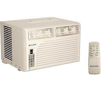 Cool Living 6,000 BTU Energy Star Efficient Window Mount Room Air Conditioner AC