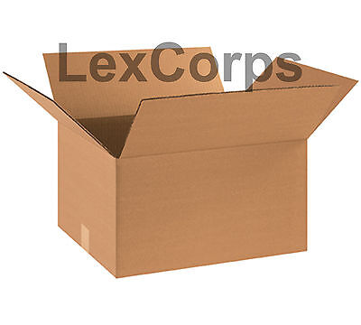 10 Qty 18x14x12 Shipping Boxes Heavy Duty