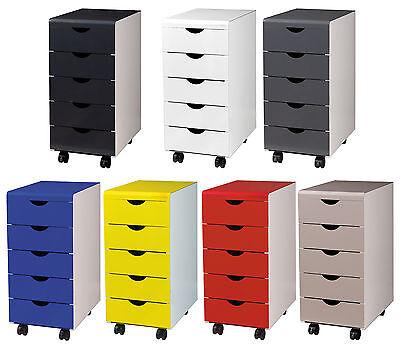 stahl schubladenschrank aus metall transparente. Black Bedroom Furniture Sets. Home Design Ideas