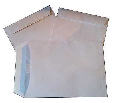 250 Stück Briefumschläge C4 229x324 mm haftklebend weiß Versandtaschen A4