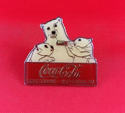 Coca Cola Eisbären Familie Pin Badge