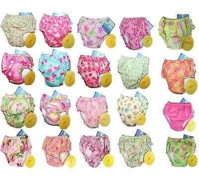 NEW iplay Girl's Swim Swimming Reusable Diapers Bathing Suit 6M 12M 18M 2T 3T 4T (Bathing Suit Swim Diaper)