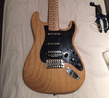 Agile 725 7 string stratocaster guitar Seymour Duncan JB HB Arndell Park Blacktown Area Preview
