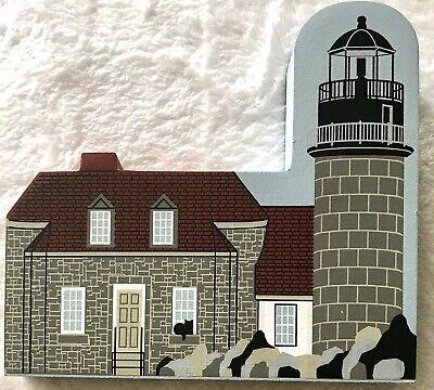 Cats Meow Village Matinicus Rock Light Keeper Series LIGHTHOUSE 1997 Maine