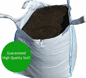 Topsoil bulk bag high quality screened soil screened for Bags of topsoil