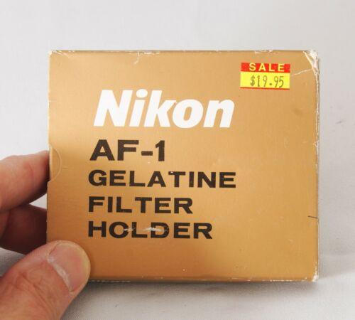 Nikon AF-1 gelatine filter holder