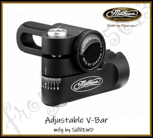 MATHEWS Adjustable V-Bar - Mfg by SHREWD - Authorized Dealer