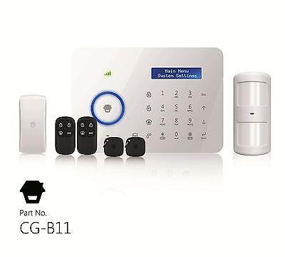 Chuango CG-B11 GSM PSTN Funk Alarmanlage Einbruchmeldeanlage Starterset Set
