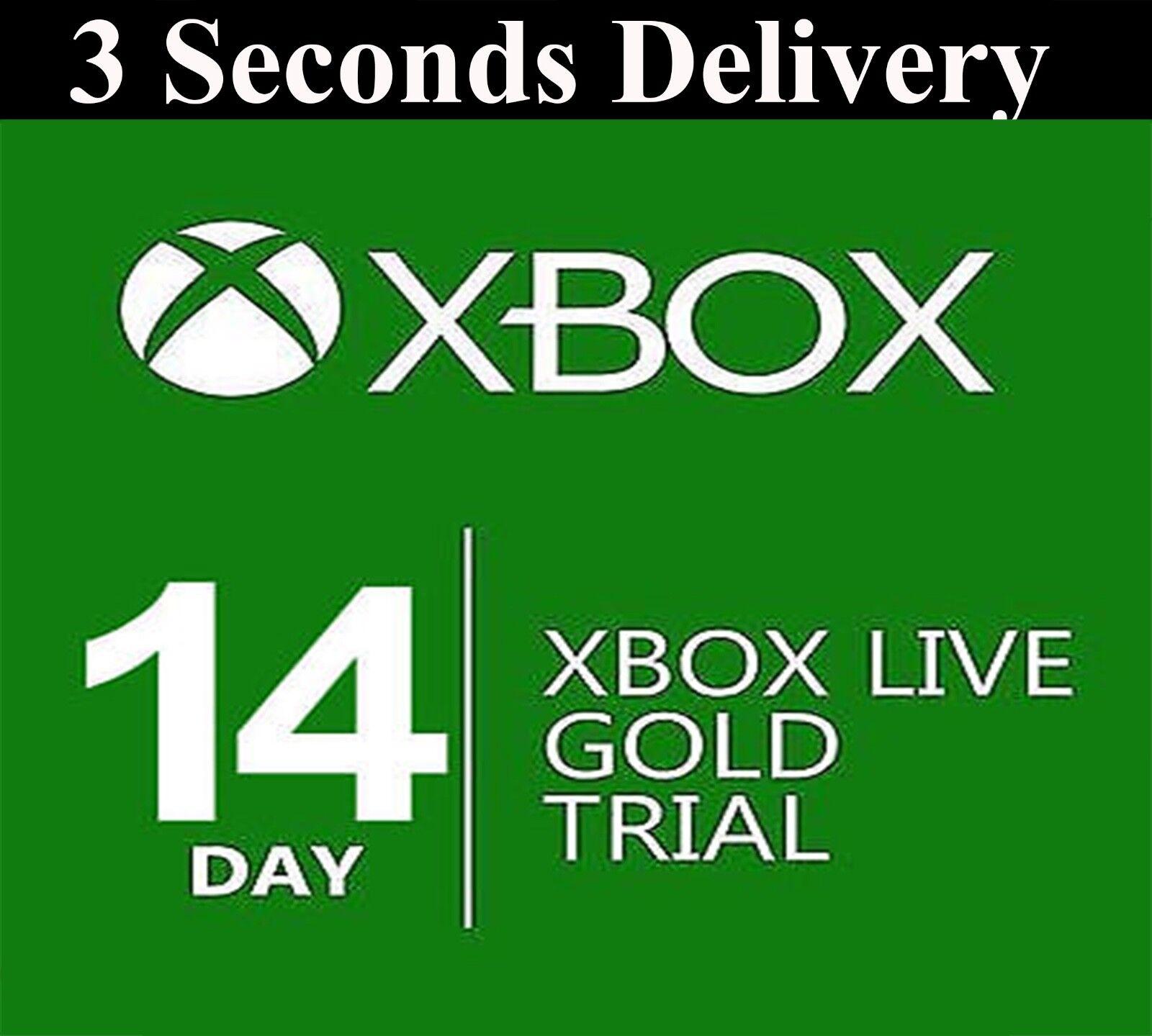 Купить Xbox - XBOX LIVE 14 day GOLD  TRIAL Membership CODE INSTANT DISPATCH - 2 weeks 14 days