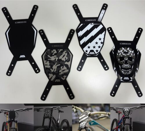All Mountain Style AMS Number Plate Camo/Patriot/Skull//Black&White