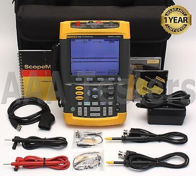 Fluke 199b Scopemeter 2.5gss Dual-input 200mhz Handheld Oscilloscope 199003