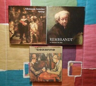 Rijksmuseum Amsterdam Paintings + Rembrandt + Cezanne (Hardcover w/ Dust Jacket)