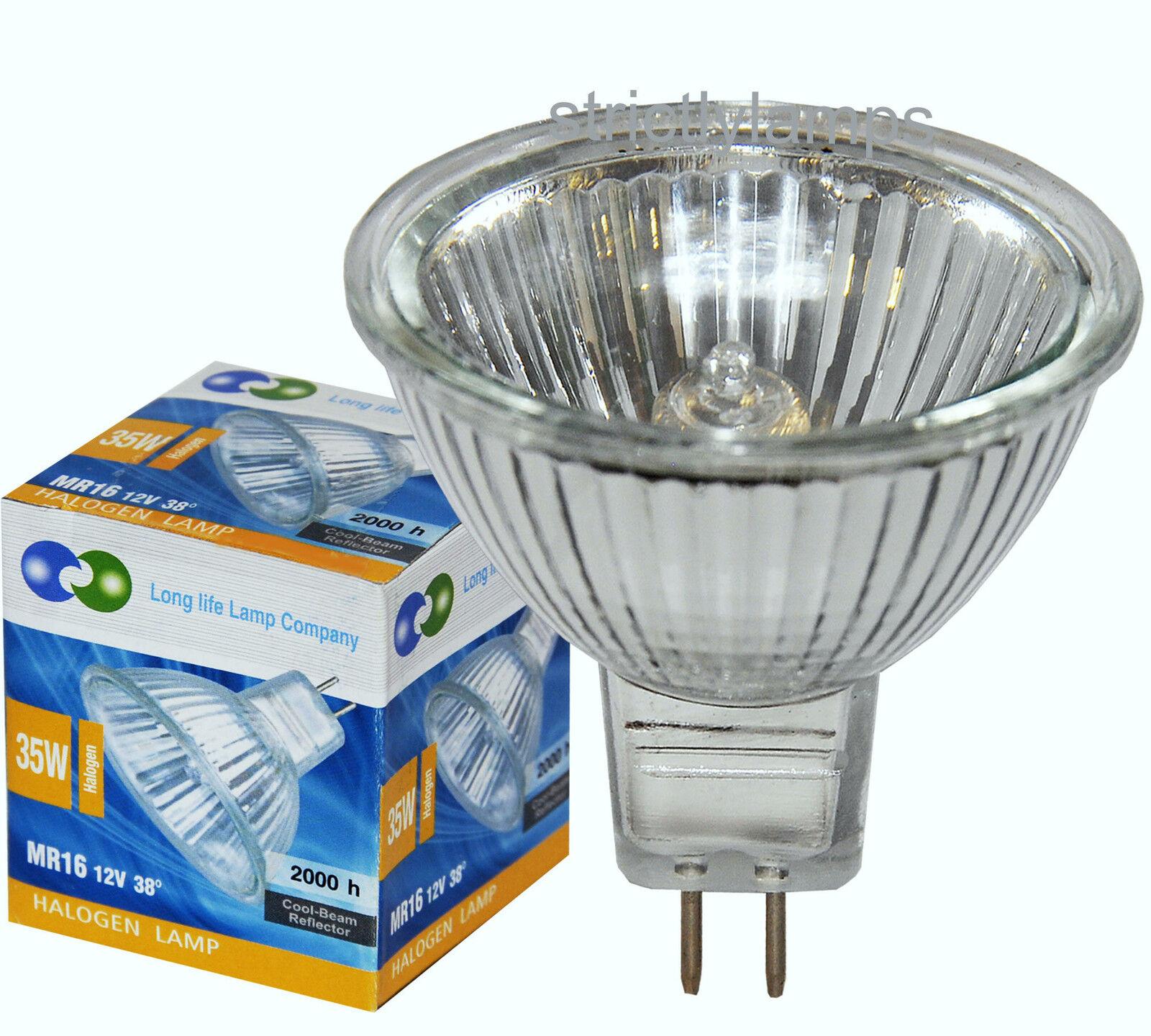 20x Mr16 35w Halogen Light Bulbs 12v Look 10 Delivered