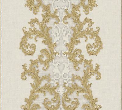 Versace 2 Home Wallpaper 962324 Beige Ornament Fleece Wallpaper System Solution