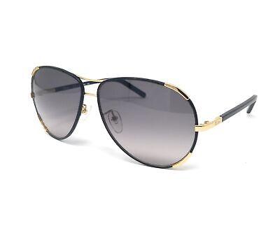CHLOE Sunglasses CE100SL 752 GOLD-BLACK Aviator 60x13x135