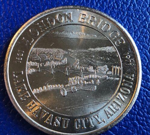 London Bridge Rotary Club Commemorative Coin Lake Havasu AZ 1986 15th Ann.