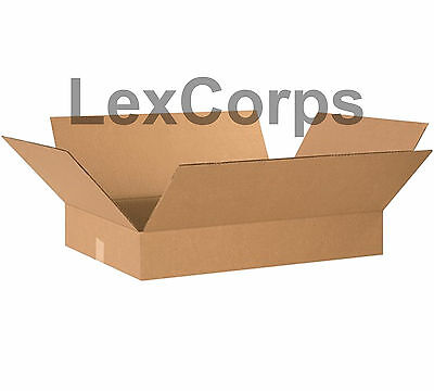 20 Qty 24x18x4 Shipping Boxes Lc Mailing Moving Cardboard Storage Packing