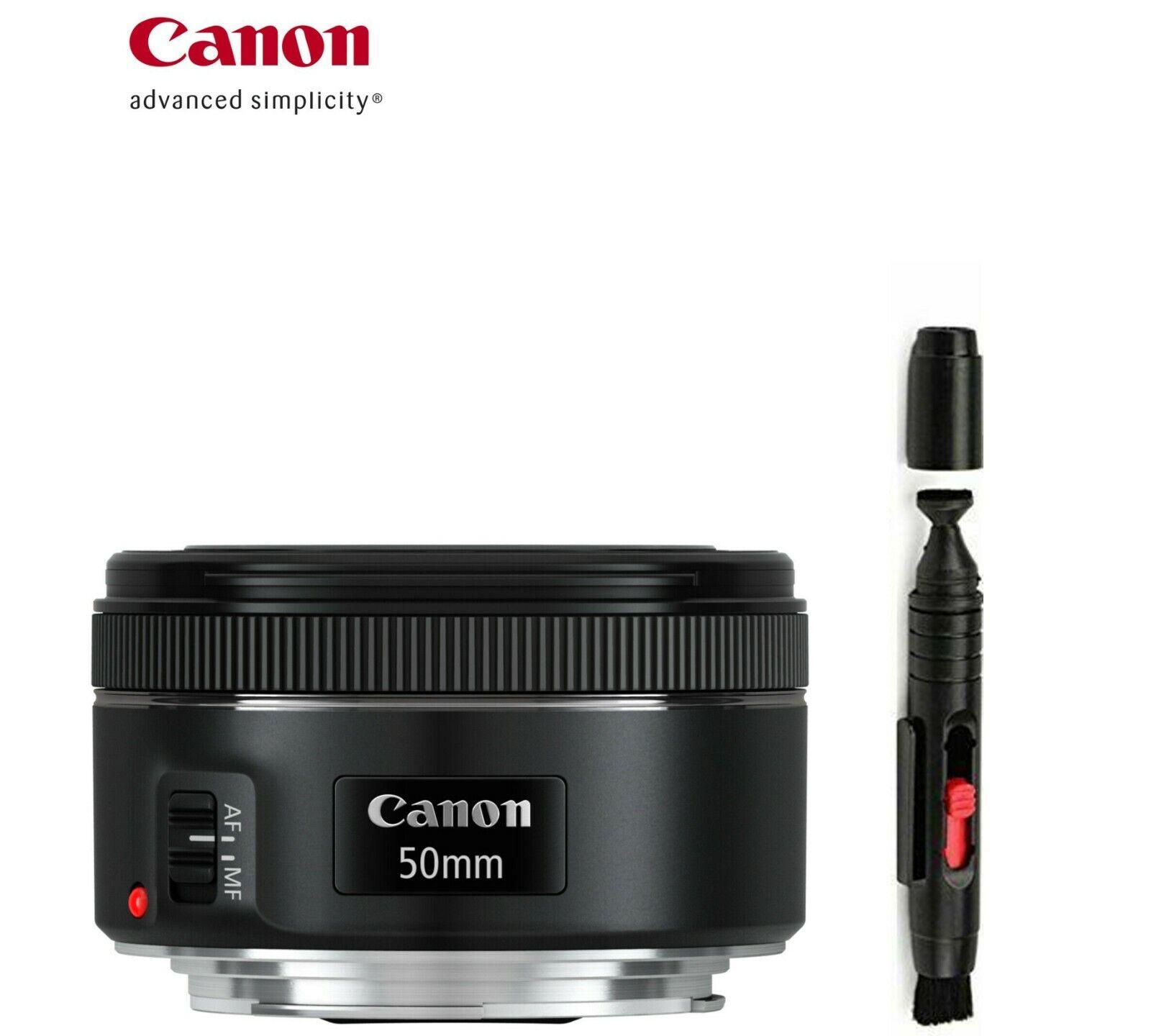 Canon - Ef 50mm F/1.8 Stm Standard Lens - Black