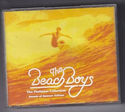 CD : The Beach Boys - The Platinum Collection (2005) 3CD Box