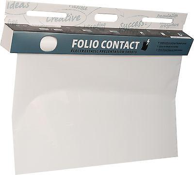 Folio Contact Whiteboard Folie 60x80cm 25 Blatt weiß elektrostatisch haftend