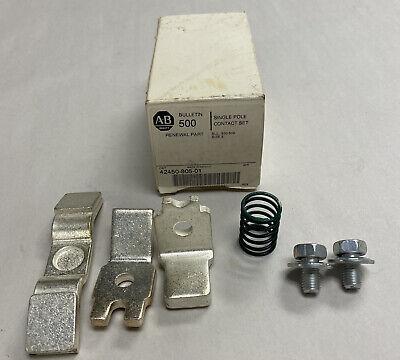 Allen-Bradley 42450-805-01 Single Pole Contact Set NEW