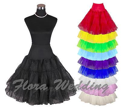 63.5cm Retro Unterrock / 50s Swing Vintage Petticoat / Tutu / Kostüm Netz - 50's Swing Kostüm