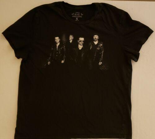 U2 Innocence + Experience Tour Size XXL Black T-Shirt
