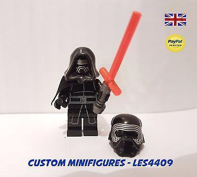 KYLO REN CUSTOM MINIFIGURE | STAR WARS  FORCE AWAKENS + FREE LEGO BRICK UK