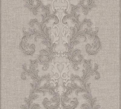 Versace 2 Home Wallpaper 962321 Braun Ornament Fleece Wallpaper System Solution