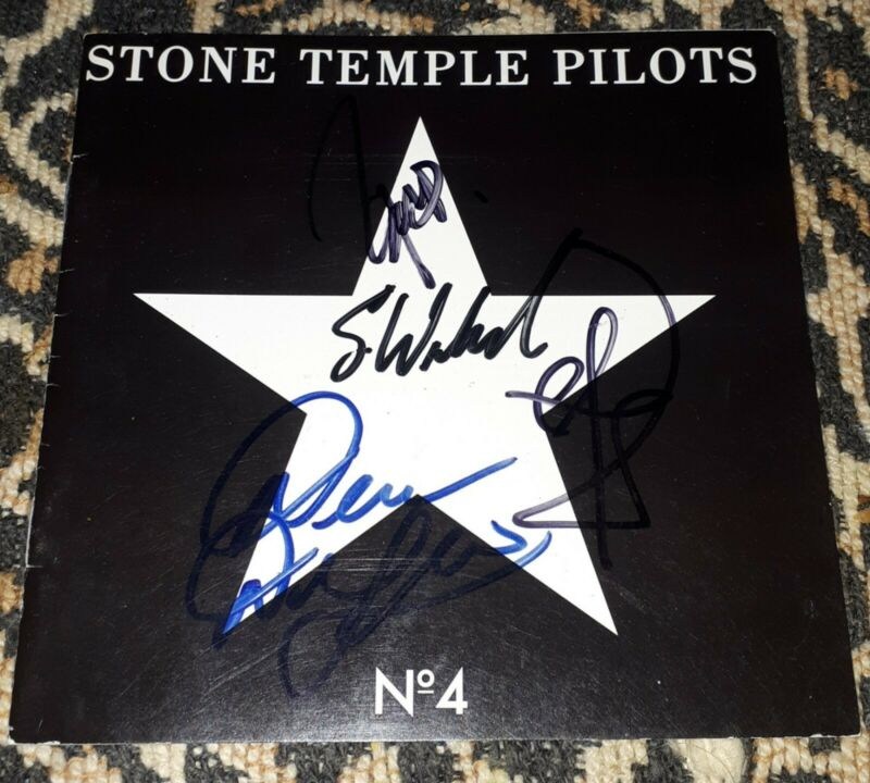 Stone Temple Pilots - Fully Signed No.4 CD Booklet, with Proof