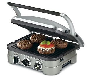 Cuisinart-GR-4N-5-in-1-Griddler-Grill-New-No-Tax