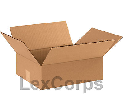 25 Qty 12x10x4 Shipping Boxes Standard