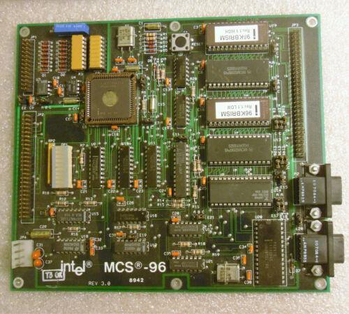 Intel MCS-96 87C196 Evaluation Demonstration Board