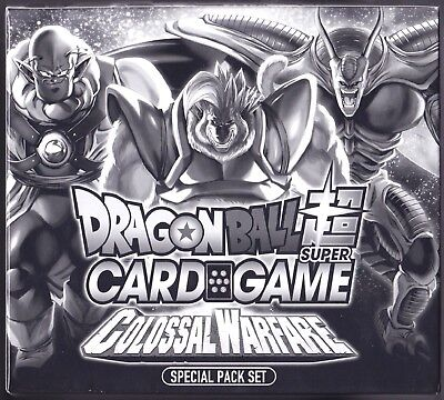 6x - Box/Case Dragonball Super Card Game / Colossal Warfare / special pack set for sale  Shipping to India