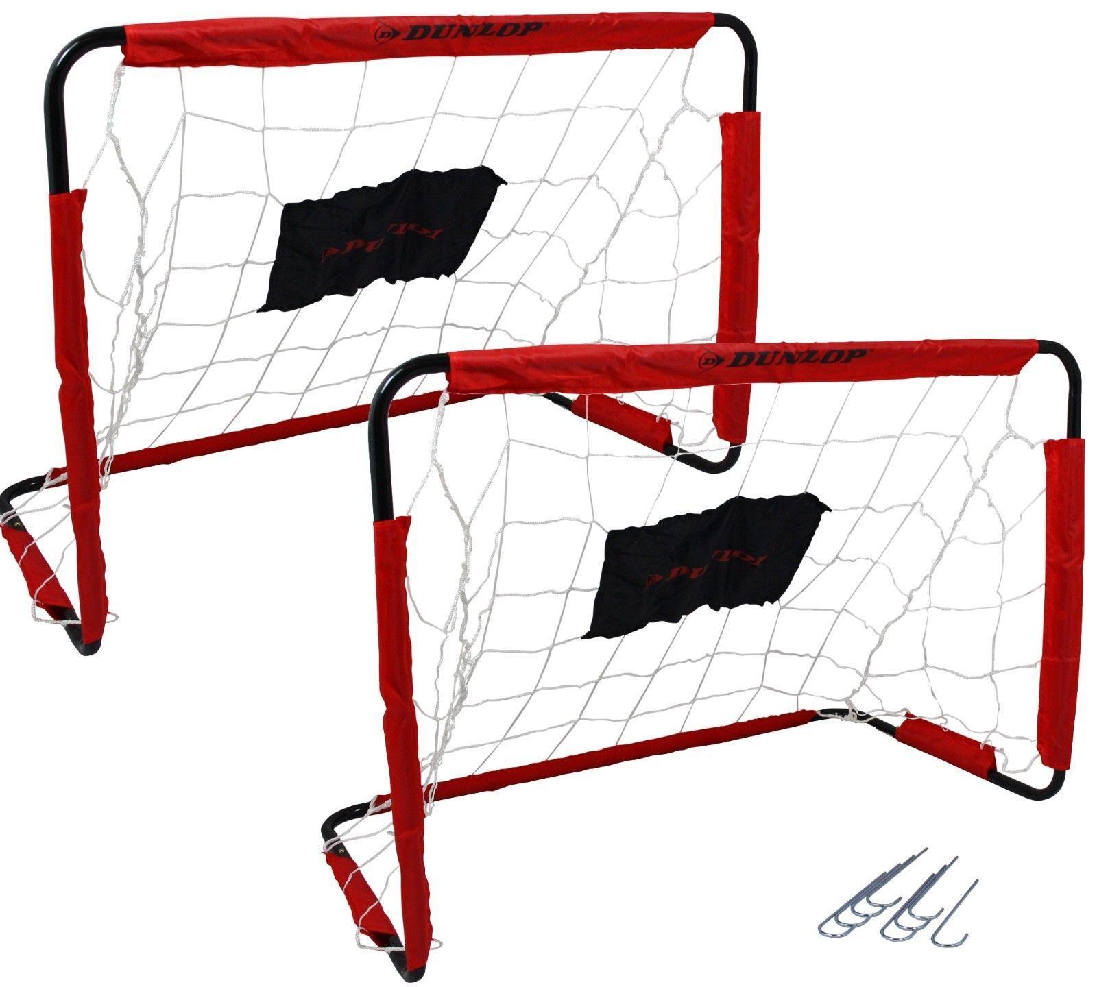 2 Stück Fussballtor Fußballtor Kinder Fussball Fußball Tor Fussballtore Dunlop
